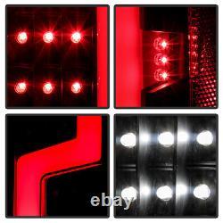 04-12 Chevy Colorado GMC Canyon FULL LED NEON TUBE Black Tail Light Signal Lamp
