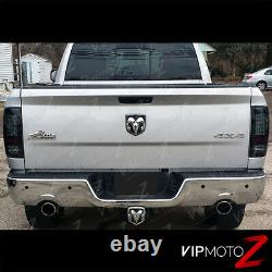 09-18 Dodge Ram Truck SUPERFLUX LED Upgrade Smoke Black Tail Brake Light Lamp