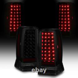 2002-2006 Cadillac Escalade ESV BLACK SMOKE LED Parking Brake Tail Lights Lamp