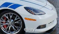 2005-2013 C6 Corvette Lights Morimoto LED Headlight PAIR DRL TAIL LIGHT CLEAR G2