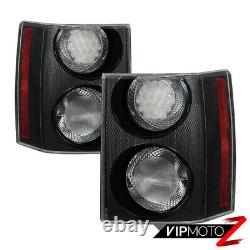 2006-2009 Range Rover L322 HSE Replacement Chrome Tail Light Lamps Assembly SET