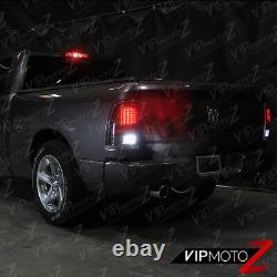 2009-2018 Dodge Ram 1500 2500 3500 FULL Reverse Signal LED Bulb Tail Light Black