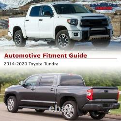 2014 2015 2016 2017 2018 Toyota Tundra LED DRL Brake Rear Tail Lights Lamp Smoke