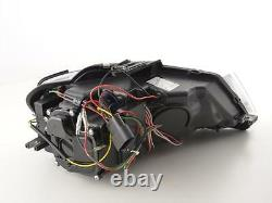 Audi A3 08-12 8p Black Light Bar Real Drl R8 Daylight Running Light Headlights