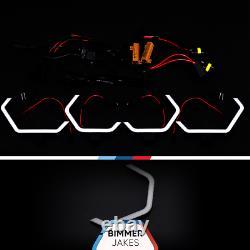 BMW 3 E90 E91 LCI Halogen BJ ICONIC LIGHTS KiT 1.1 LED ring Angel Eyes Halo