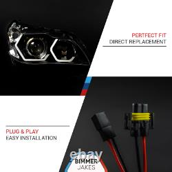 BMW 5 E60 E61 LCI Xenon BJ ICONIC LIGHTS KiT 1.1 LED ring Angel Eyes Halo Marker
