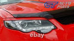Black LED DRL Headlights for 07-14 Ford Falcon FG Sedan FPV XR6 XR8 Head lights