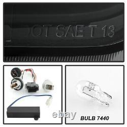 Black Smoke FULL Set Neon Tube Running Light LED Tail Lamp 14-20 Chevy Impala