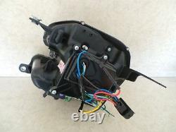 Bmw Mini 2007-2013 R55 & R56 Black Led Light Bar Drl R8 Projector Headlights