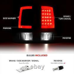 Cree LED Reverse 2007-2013 GMC Sierra 1500 2500 3500 SINISTER BLACK Tail Light