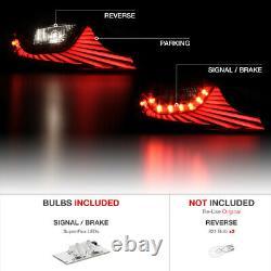 DARKEST Smoke LED STRIP Tail Lights Assembly For 2003-2005 Infiniti G35 Coupe