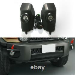 DRL For Toyota FJ Cruiser LED Day Driving Running Light Fog Lamp Kit Assembly