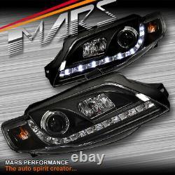 DRL LED Head Lights Ford FPV Series 2 Falcon FG Sedan & Ute G6 G6E Turbo XT GT