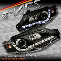 DRL LED Head Lights Ford FPV Series 2 Falcon FG Sedan Ute XR6 TURBO XR8 BOSS GS