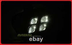 Direct Fit Fog Light LED 4 Eyes Black For Kia Sorento LX EX Only 2016-2018