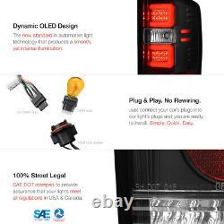 FIBER OPTIC C-SHAPE TUBE For 14-18 Chevy Silverado Black LED Tail Brake Light