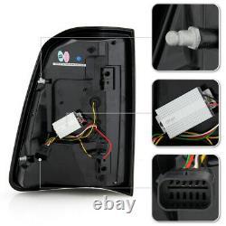 FULL LED Black Neon Tube Tail Light Signal Brake Lamp Pair For 19-21 RAM 1500