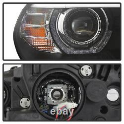 Factory HID Model withAFS For 07-10 BMW X5 Dual LED Halo DRL Projector Headlight