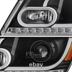 FiBeR OpTiC TuBe 2009-2020 Dodge Journey OLED Signal DRL Projector Headlights