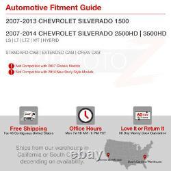 FiBeR OpTic TuBe 2007-2013 Chevy Silverado 1500 2500 3500 OLED DRL Headlights