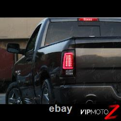 Fit 13-18 RAM 1500 2500 3500 Black TRON STYLE OLED Parking Tube Lights Lamps