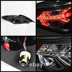 Fit 2010-12 Genesis Coupe 2DR Turbo Left+Right Black LED SMD Tail Light Lamp KDM