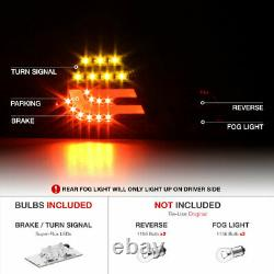 For 00-03 BMW E46 3-Series 2DR Tail Light LED Tube Signal Brake Reverse Lamp L+R