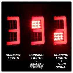 For 05-06 Jeep Grand Cherokee BLACK Tail Light Neon U-Bar Tube LED Brake Lamp