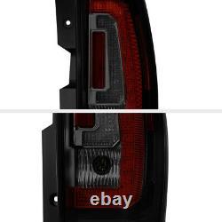 For 07-14 Chevy Tahoe Suburban SINISTER BLACK LED Brake Signal Rear Tail Light