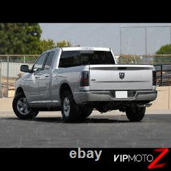 For 09-18 Ram 1500 / 10-18 Ram 2500 3500 C-SHAPE FULL LED Tail Light Black L+R