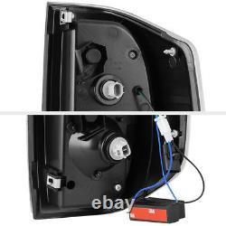 For 14-21 Toyota Tundra Dark Black Smoke Direct Replacement LED Brake Tail Light