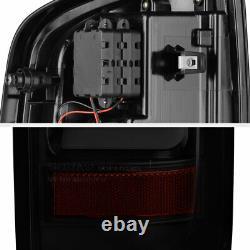 For 15-21 Chevy Colorado BLACK SMOKE OLED Light Bar LED Backup Tail Brake Lamp