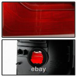 For 16-21 Toyota Tacoma TRD PRO STYLE Black Bezel Tail Lights Brake Lamp LH+RH