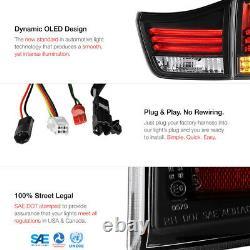 For 2004-09 Lexus RX330 RX350 Black NEWEST LED TUBE Rear Brake Tail Lights 4PC