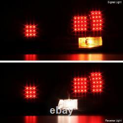 For 98-05 Lexus GS300 GS430 4PC Trunk+Corner Black LED Tail Light Brake Lamp SET