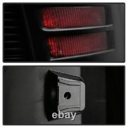 Full Black Edition For 13-18 Dodge RAM 1500 2500 3500 LED Light Tube Tail Lamp