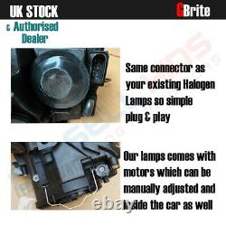 Golf Mk6 Drl Bi Xenon Headlamps Gtd R20 Gti Black Edition Headlights Upgrade Uk