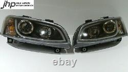 HALO DRL Head Lights Holden HSV VE Commodore S2 SSV SV6 OMEGA SS CALAIS 20159