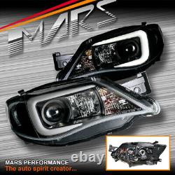 LED 3D DRL Projector Head Lights for Subaru Impreza WRX STI 07-13 -Xenon type