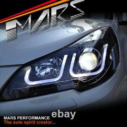 LED DRL Projector Head Lights for Subaru 5GEN Liberty Legacy OutBack 09-15