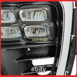 LED Foglights Daytime Running Lights For Kia Sorento 19+ SX 4 Eyes Fog Light