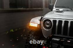 Morimoto XB LED DRL and Sequential Turn Signals For 2018+ Jeep Wrangler JL