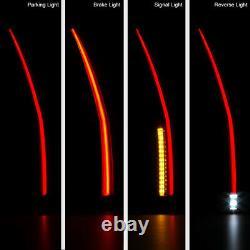 NEON TUBE 2007-2014 Chevy Suburban Tahoe GMC Yukon XL Full LED Tail Lights SET