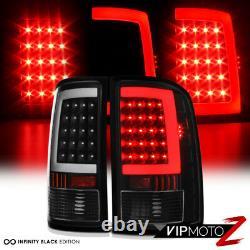 OLED NEON TUBE For 07-13 GMC Sierra 1500 2500 3500 Black LED Tail Brake Light