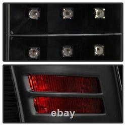 Onyx Black LED Tail Brake Signal Light For 09-18 Dodge Ram Truck 1500 2500 3500