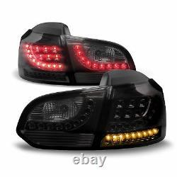 Original Lo-Style LED Rear Lights Black Smoke Set For VW GOLF 6 VI MK6 Soda