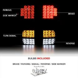 SINISTER BLACK For 07-13 Toyota Tundra SMD LED Reverse Signal Bulb Tail Lights
