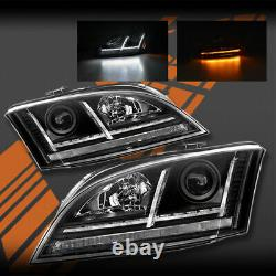 Sequential Indicator DRL LED Head Lights for AUDI TT 8J 06-14 -Suit Xenon Model