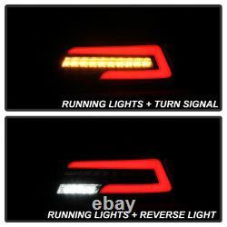 ^SuperFlux LED^ Neon Tube Running Lamp Black Tail Light For 15-21 Subaru WRX STI