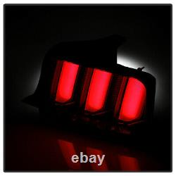 ^SuperFlux LED Reverse^ Smoke Neon Tube Sequential Tail Light for 05-09 Mustang